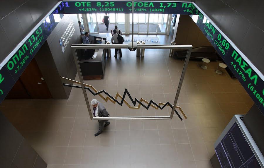 Με πτώση 1,01% έκλεισε το Χρηματιστήριο Αθηνών την Πέμπτη 8 Φεβρουαρίου