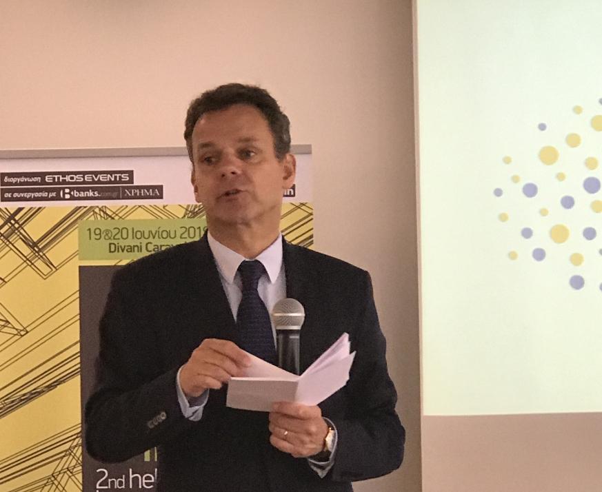 Ο πρέσβης της Ολλανδίας στην Αθήνα, κ. Caspar Veldkamp, εκτιμά καθαρή έξοδο της Ελλάδας από τα μνημόνια τον Αύγουστο