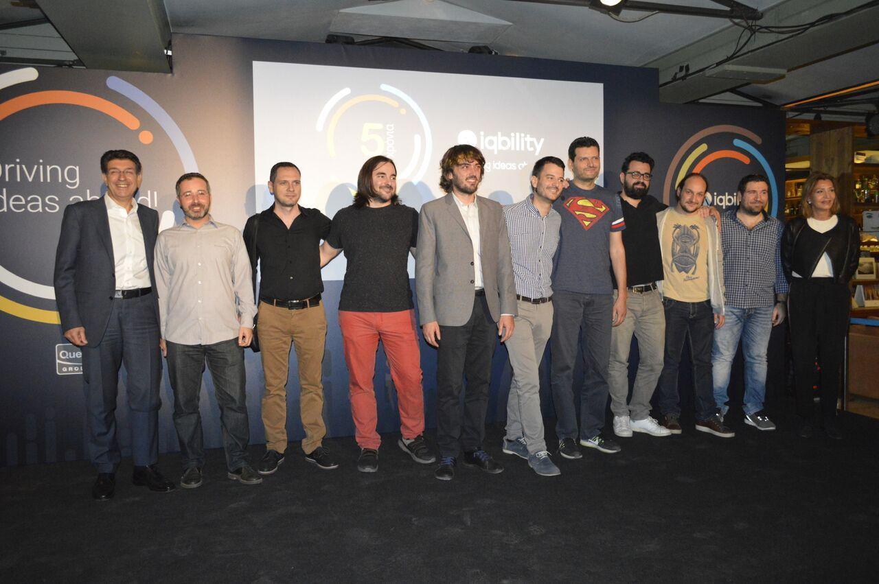 Ομιλος Quest: Πέντε χρόνια από την έναρξη λειτουργίας της θερμοκοιτίδας Start-ups, IQbility