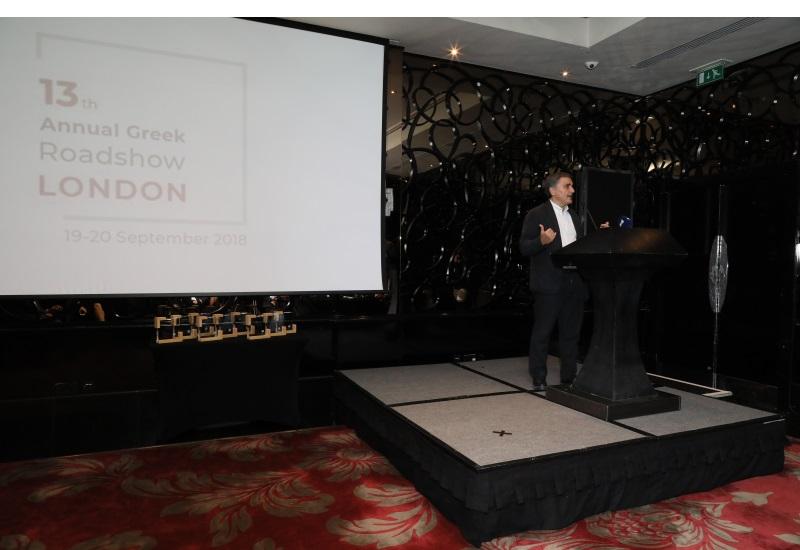 Το 13ο ετήσιο ελληνικό Roadshow στο Λονδίνο